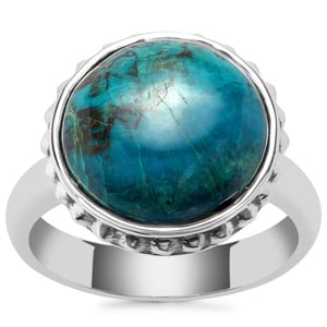 Chrysocolla Ring in Sterling Silver 8.66cts