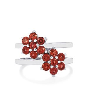 Nampula Garnet Ring in Sterling Silver 1.95cts