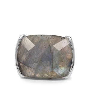 24.48ct Labradorite Sterling Silver Ring