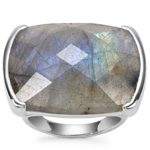 Labradorite Ring in Sterling Silver 24.48cts