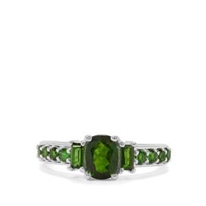 1.56ct Chrome Diopside Sterling Silver Ring