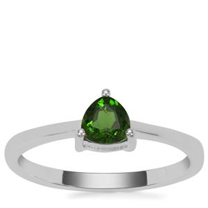 Chrome Diopside Ring in Sterling Silver 0.51cts