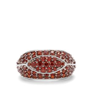 3.51ct Anthill Garnet Sterling Silver Ring