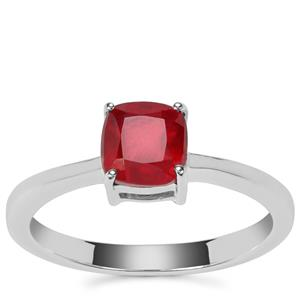 Malagasy Ruby Partywear Ring in Sterling Silver 1.59cts (F)