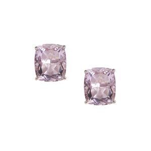 Purple Fluorite Earrings in Sterling Silver 13.72cts