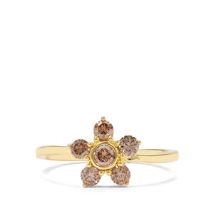 1/2ct Argyle Diamond 18K Gold Ring