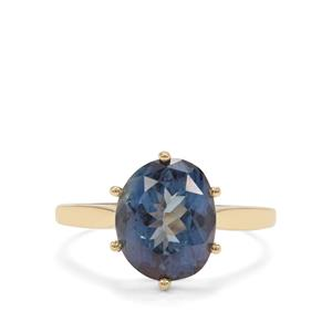 Hope Topaz Ring in 9K Gold 4.84cts