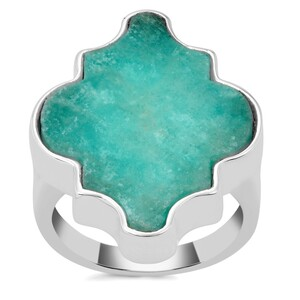 Amazonite Ring in Sterling Silver 13cts