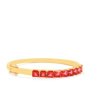 7.25ct Cruzeiro Topaz Gold Vermeil Bangle