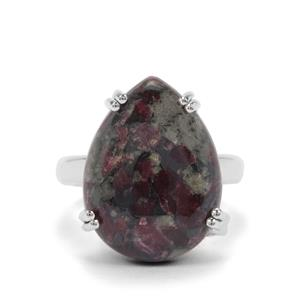 12ct Eudialyte Sterling Silver Aryonna Ring