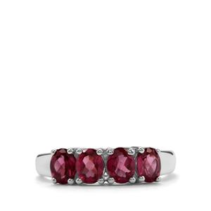 1.61ct Octavian Garnet Sterling Silver Ring