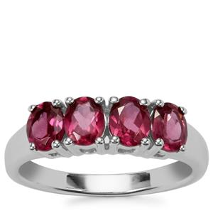 Octavian Garnet Ring in Sterling Silver 1.61cts
