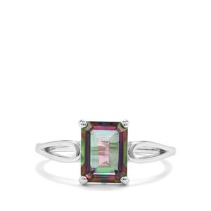 Mystic Topaz Ring in Sterling Silver 2.81cts