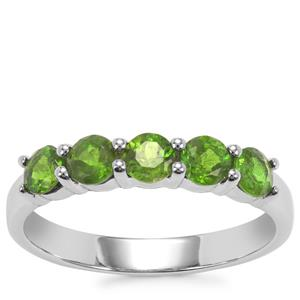 Chrome Diopside Ring in Sterling Silver 1.03cts