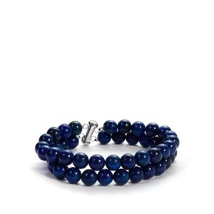 Lapis Lazuli Bracelet in Sterling Silver 212.30cts