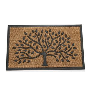Tree of Life Coir Door Mat 70 x 40cm
