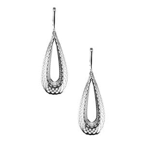 Sterling Silver Bayeux Earrings 6.64g