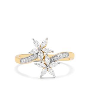 1/2ct Diamond 18K Gold Tomas Rae Ring