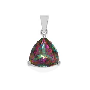 Mystic Topaz Pendant  in Sterling Silver 8.86cts