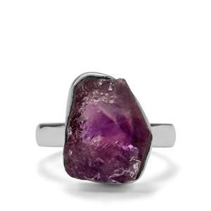 9.36ct Moroccan Amethyst Sterling Silver Ring