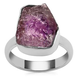 Moroccan Amethyst Ring in Sterling Silver 9.36cts