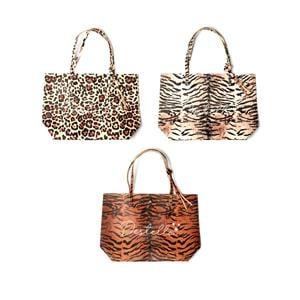 Destello Leopard Print Vegan Leather Handbag - 3 Colour Variations