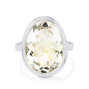11ct Optic Quartz Sterling Silver Aryonna Ring