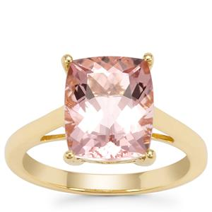 Cherry Blossom™ Morganite Ring in 18K Gold 3.75cts