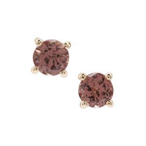 Bekily Colour Change Garnet Earrings in 9K Gold 0.86ct