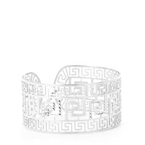Sterling Silver Bayeux Bangle 12.81g