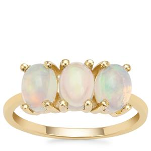 Kelayi Opal Ring in 9K Gold  1.42cts