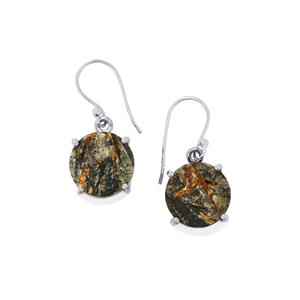 21ct Astrophyllite Drusy Sterling Silver Aryonna Earrings