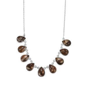 Wild Horse Jasper Necklace in Sterling Silver 47.13cts