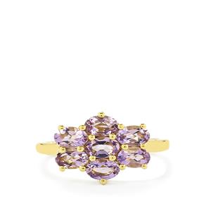 1.35ct Purple Scapolite 9K Gold Ring