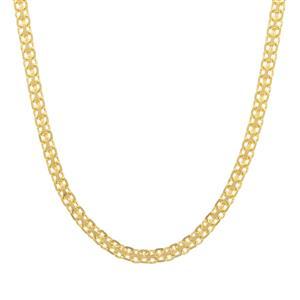 """24"""" Midas Dettaglio Diamond Cut Bismark Chain 3.37g"""