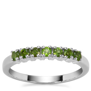 Chrome Diopside Ring in Sterling Silver 0.51ct