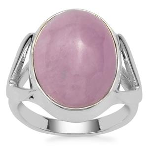 Nuristan Kunzite Ring in Sterling Silver 13.60cts