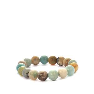 200ct Multi-Colour Amazonite Stretchable Bracelet