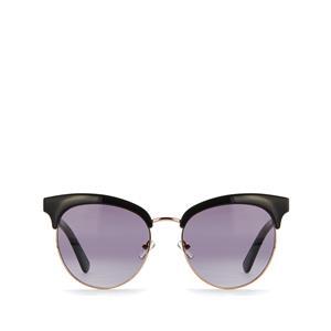 Quay Cherry Sunglasses in Black Smoke