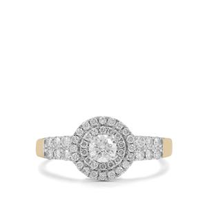 3/4ct Diamond 18K Gold Ring