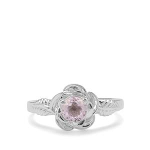 0.74ct Brazilian Kunzite Sterling Silver Ring