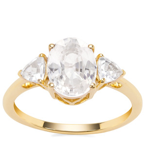 Ratanakiri Zircon in 9K Gold Ring 3.65cts