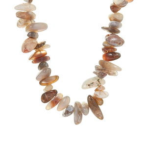 Botswana Agate  Necklace 885cts