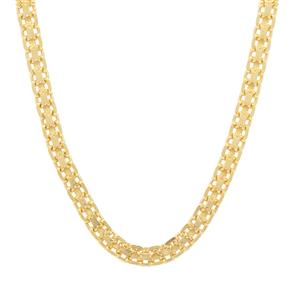 """16"""" Midas Dettaglio Diamond Cut Bismark Chain 2.89g"""