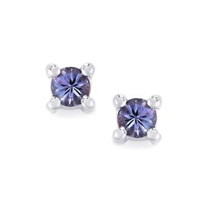 Tanzanite Earrings in Sterling Silver 0.35ct