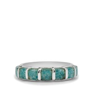 Petro Opal Ring in Sterling Silver 3.10cts
