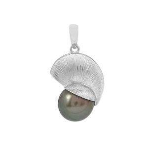 Maruata Cultured Pearl Sterling Silver Pendant (12mm)