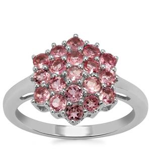 Kaffe Tourmaline Ring in Sterling Silver 1.27cts