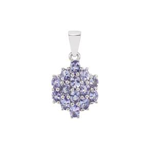 Tanzanite Pendant in Sterling Silver 2.30cts