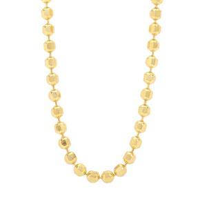 """18"""" Midas Tempo Diamond Cut Ball Chain 2.96g"""
